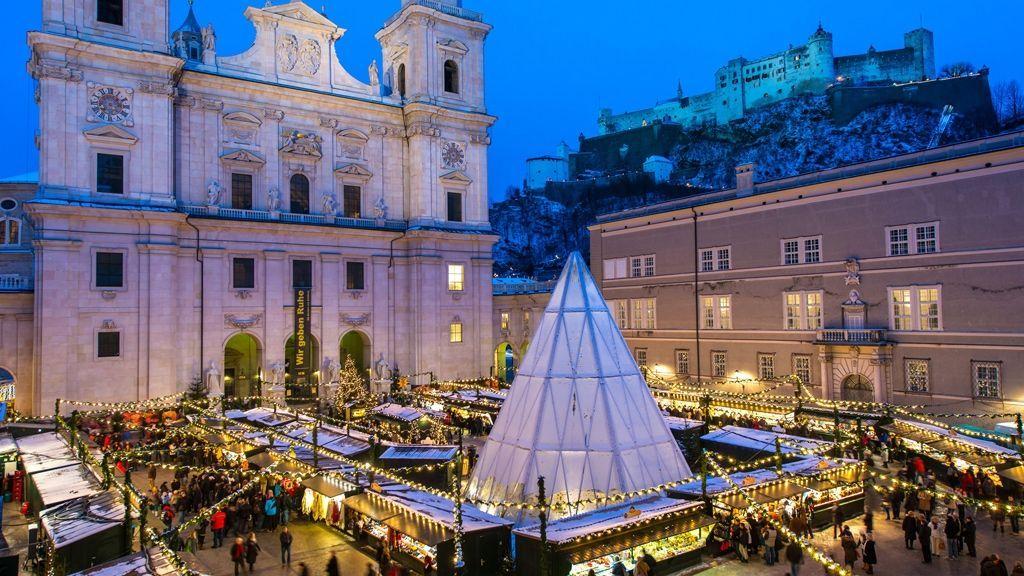 Christkindlmarkt in Salzburg - © Tourismus Salzburg