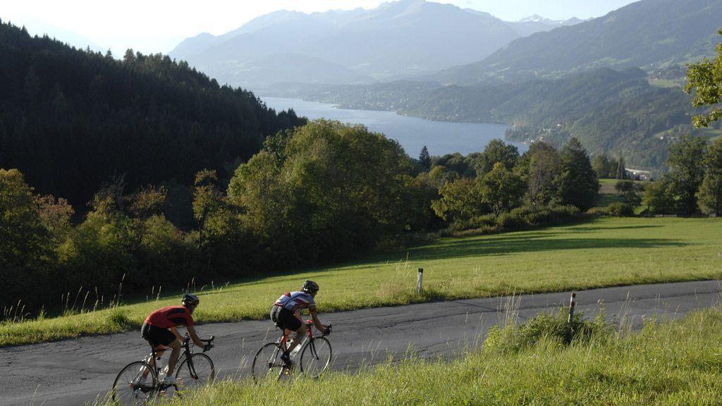 Rennradfahren in Kärnten - © Kärnten Werbung, Fotograf: Geissler