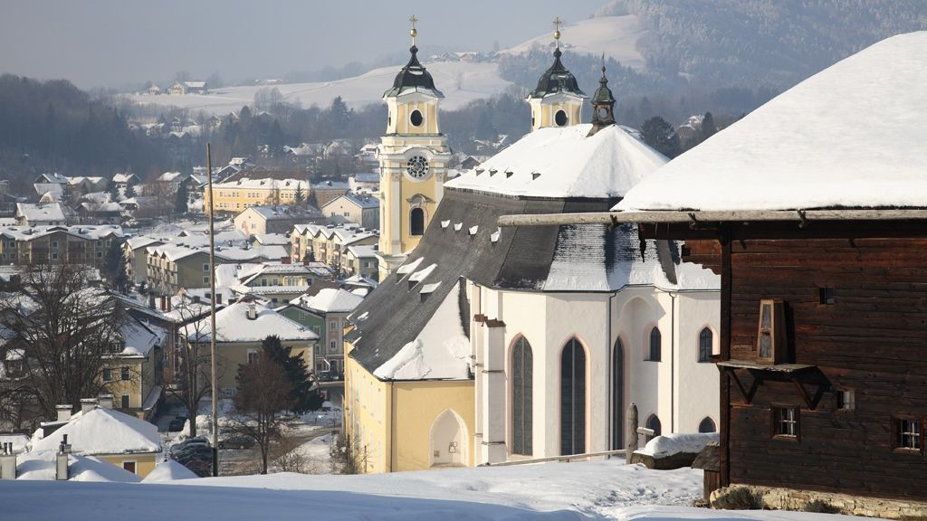 Mondsee im Winter - © STMG