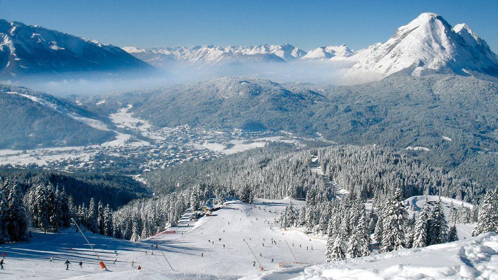 Skifahren in Seefeld © Olympiaregion Seefeld