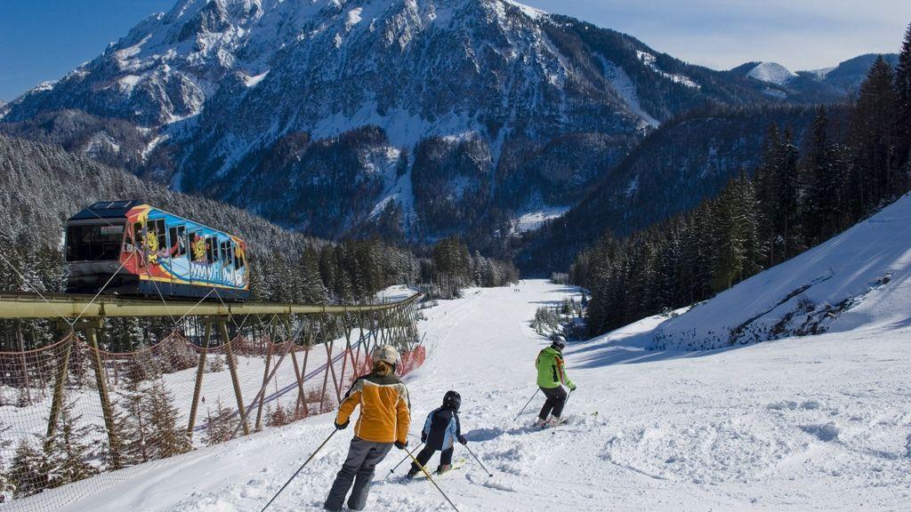 Skifahren auf der Wurzeralm - Foto: TVB Pyhrn-Priel