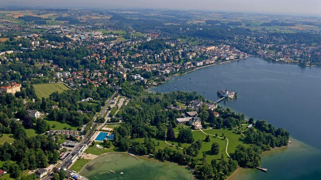 Gmunden von oben - © Ferienregion Traunsee