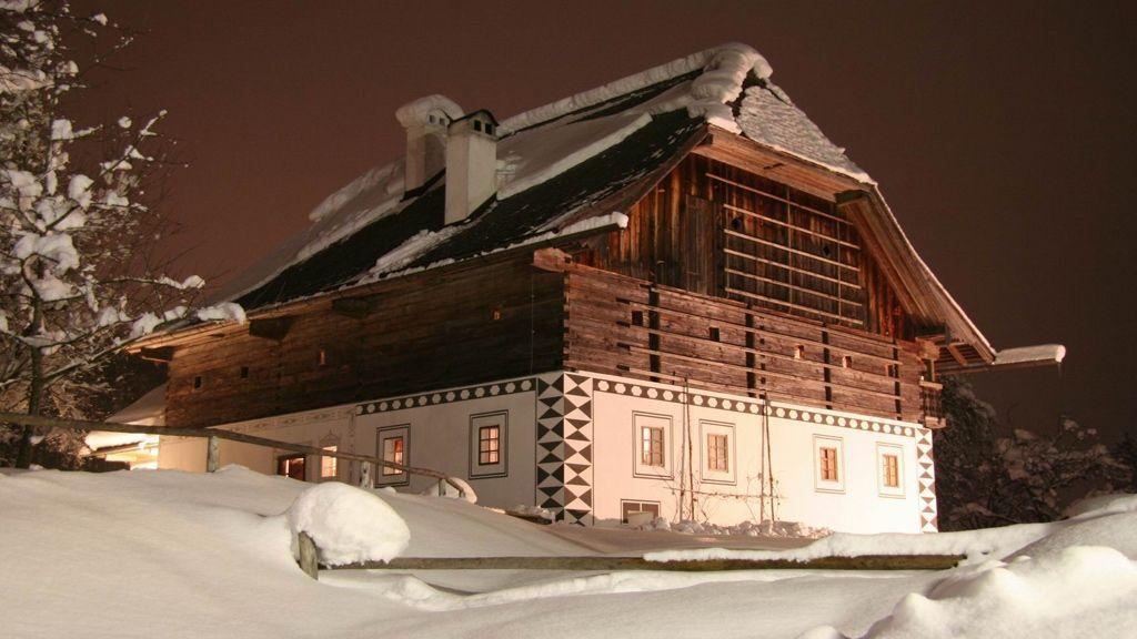 Eggerhaus im Schnee - © MTV Ferienregion Traunsee