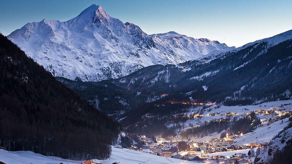 Sölden im Winter - © Rudi Wyhlidal/Ötztal Tourismus - Soelden Tirol