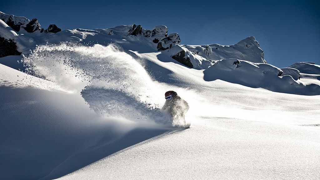 Snowboarden in Sölden - © Rudi Wyhlidal/Ötztal Tourismus - Soelden Tirol