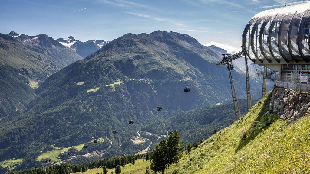 Panoramablick - Foto: Bergbahnen Sölden/Rudi Wyhlidal