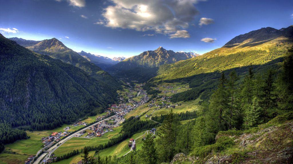 Sölden Ortsbild - Foto: Ötztal Tourismus/Isidor Nösig
