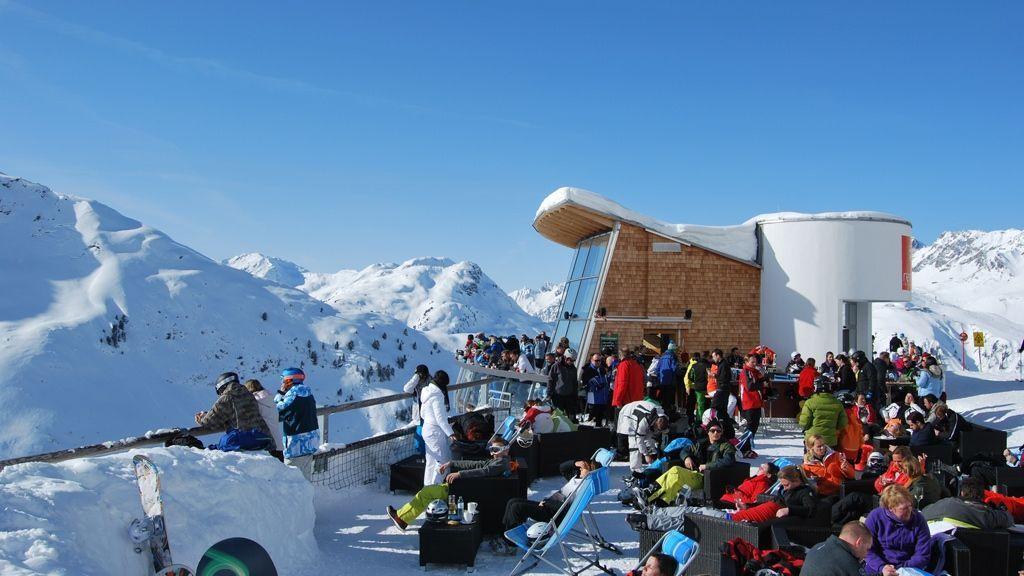 Beste Aussichten am Rendl Beach - Bildnachweis: TVB St. Anton am Arlberg