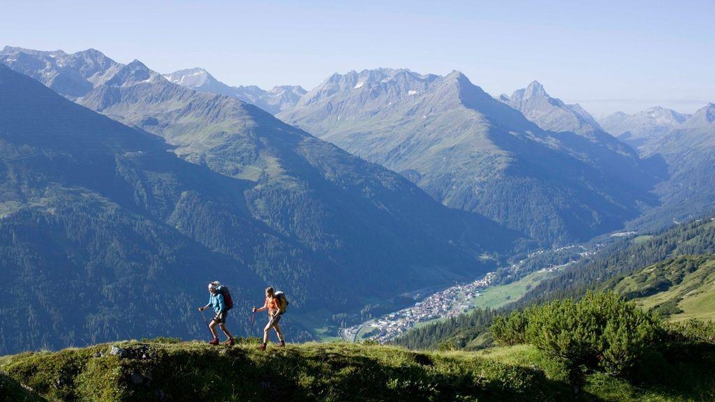 Gratwanderung über den Weißschrofen Bildnachweis: TVB St. Anton am Arlberg / Bernd Ritschel