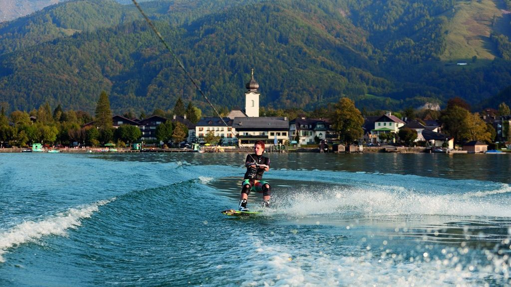 Wakeboarden am Wolfgangsee - © WTG