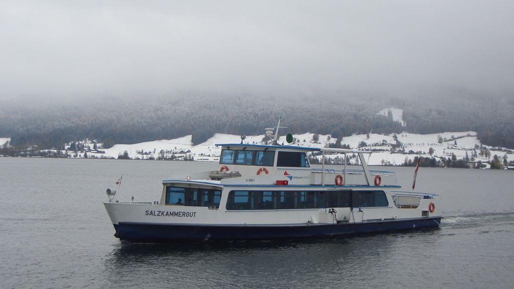 Schifffahrt im Winter - © WTG