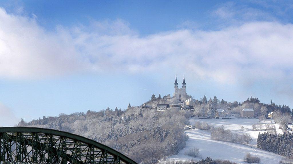 Pöstlingberg im Schnee - (c) Röbl - TV Linz