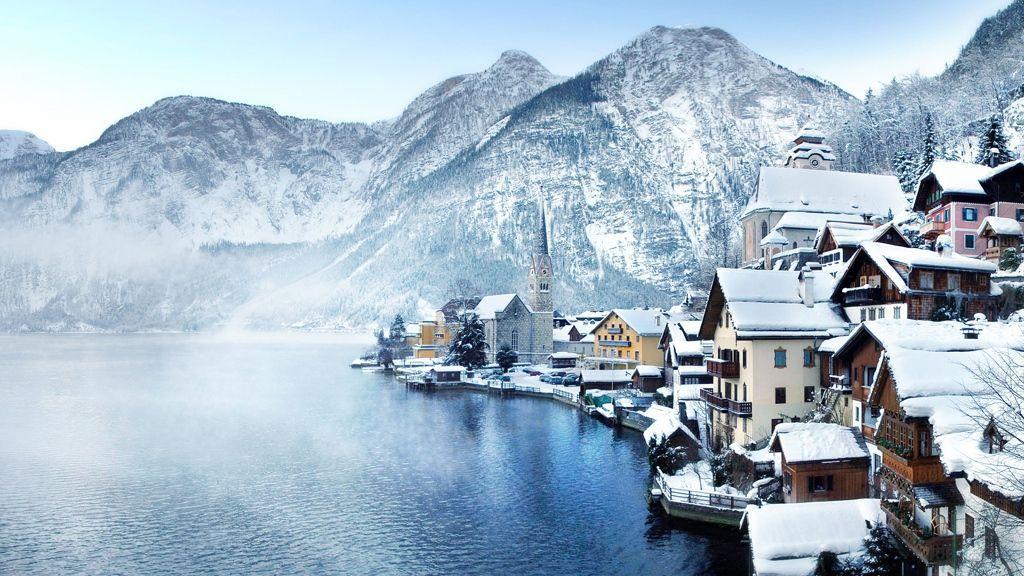 winterliches Hallstatt am Hallstättersee - ©OÖ.Tourismus/Röbl