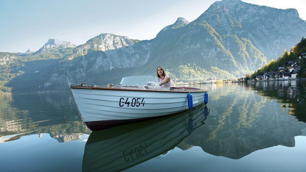 Bootfahren am Hallstättersee - ©OÖ.Tourismus/Röbl