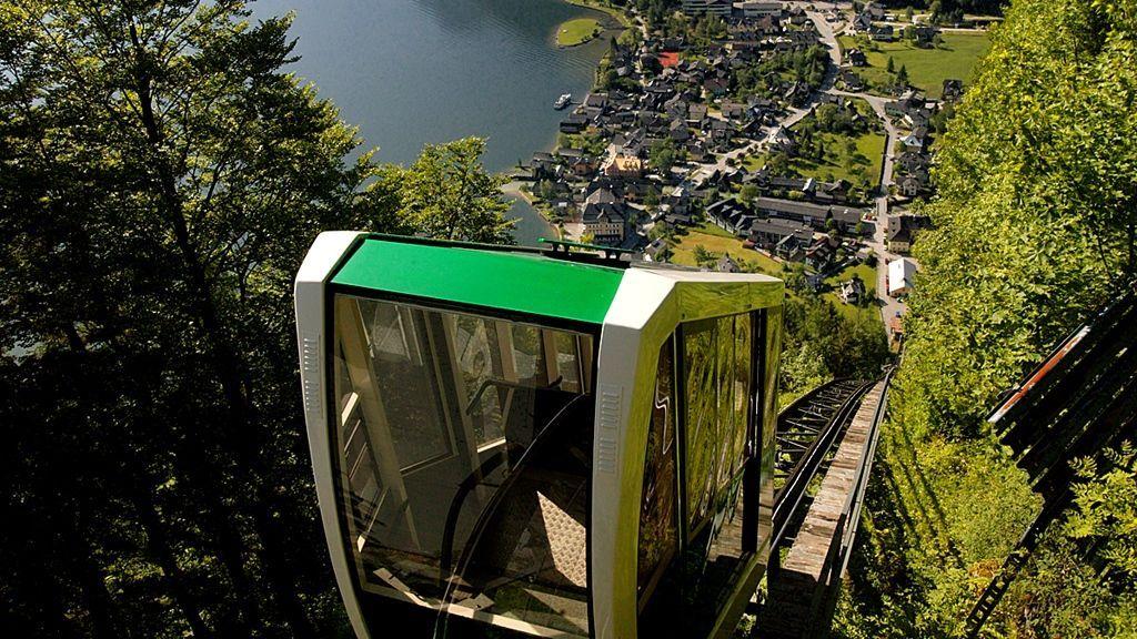 Salzbergbahn Hallstatt - ©Archiv Salinen Tourismus GmbH