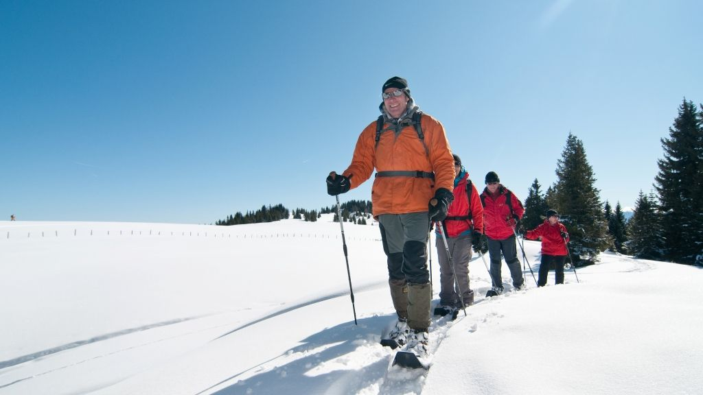 Snow-shoe walking - Steindorf  am  Ossiacher  See Carinthia
