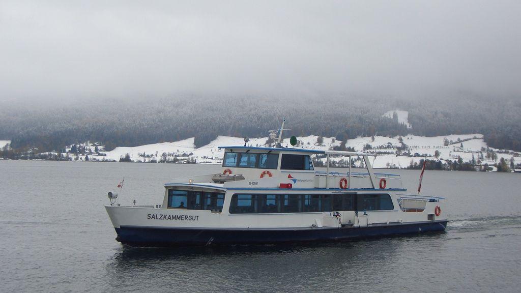 Schifffahrt im Winter © WTG