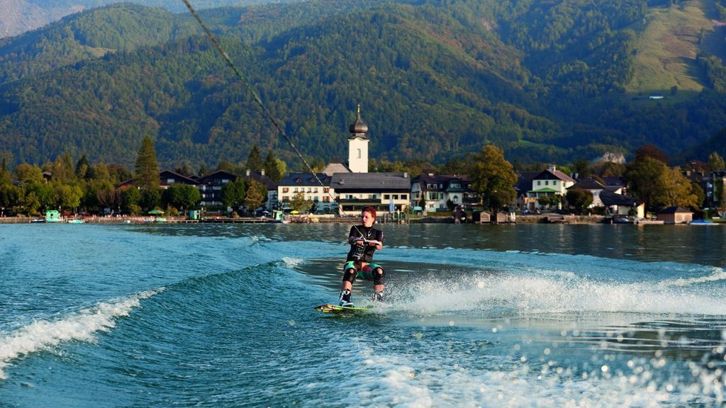 Wakeboarden am Wolfgangsee © WTG
