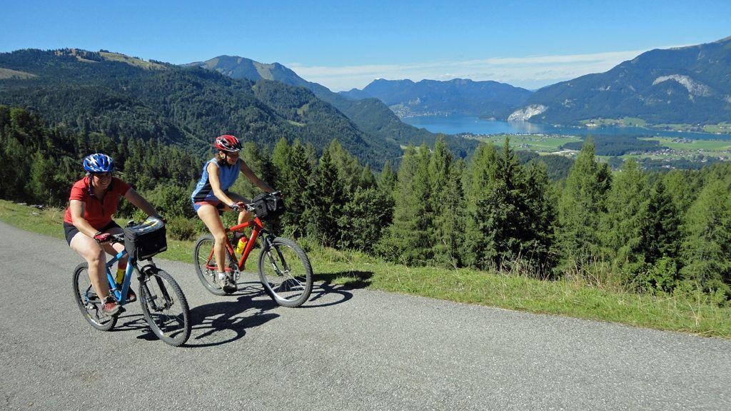 Mountainbiken rund um St. Gilgen und dem Wolfgangsee © WTG
