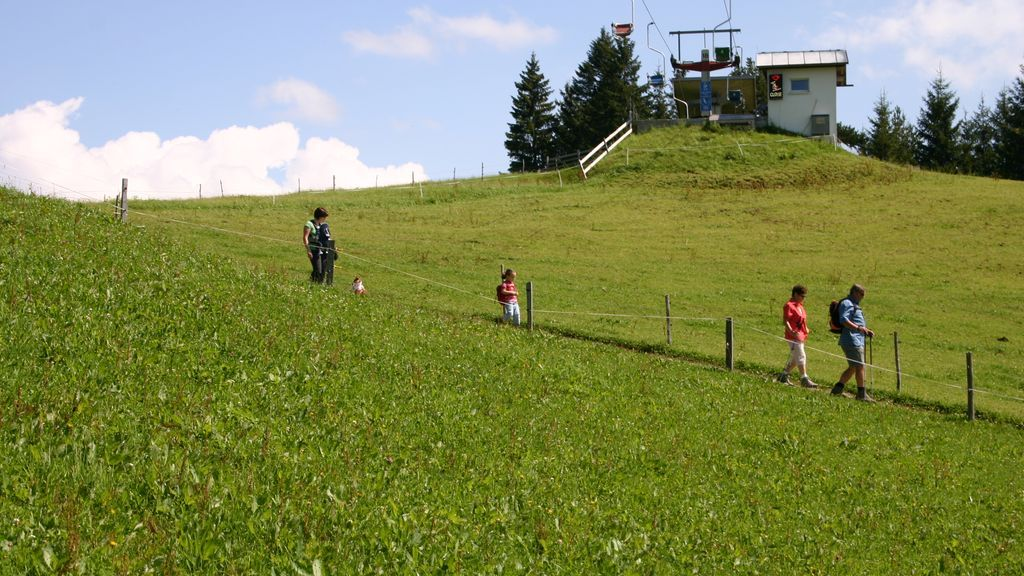 Wandern am Brüggele - Alberschwende Vorarlberg