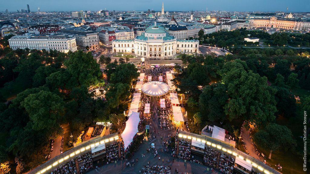 Musikfilm-Festival am Rathausplatz ©WienTourismus/Christian Stemper