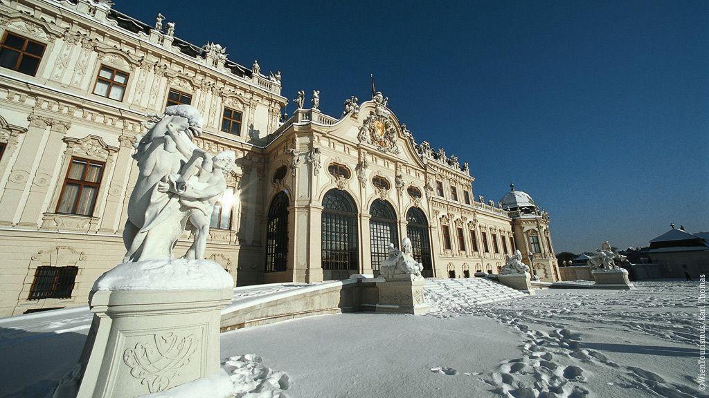 Schloss Belvedere ©WienTourismus/Karl Thomas