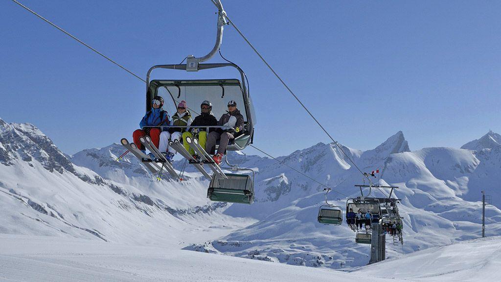 Skigebiet Zürs - © Lech Zürs Tourismus/Sepp Mallaun - Arlberg Vorarlberg