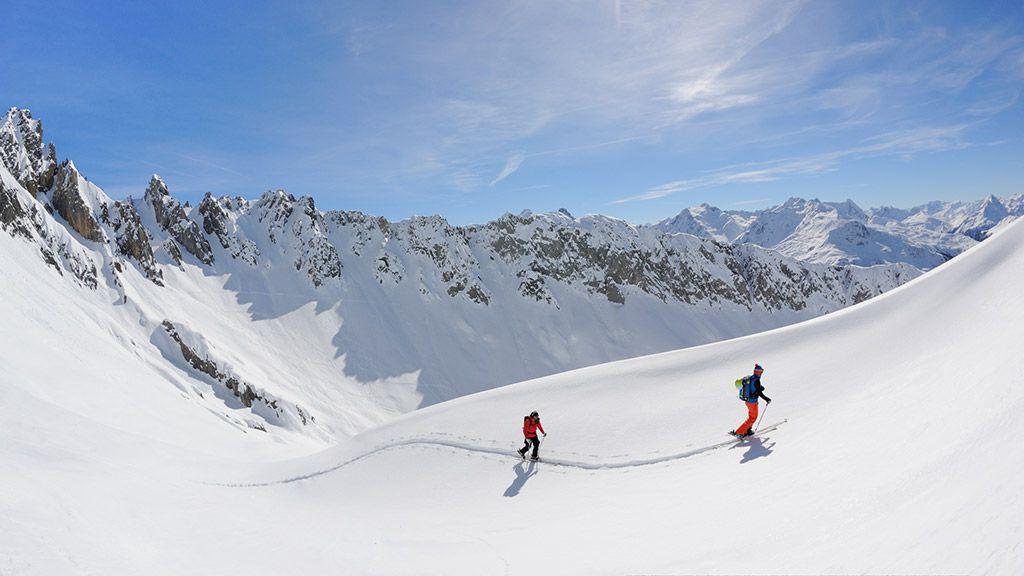 Skitourengeher - © Lech Zürs Tourismus/Sepp Mallaun - Arlberg Vorarlberg