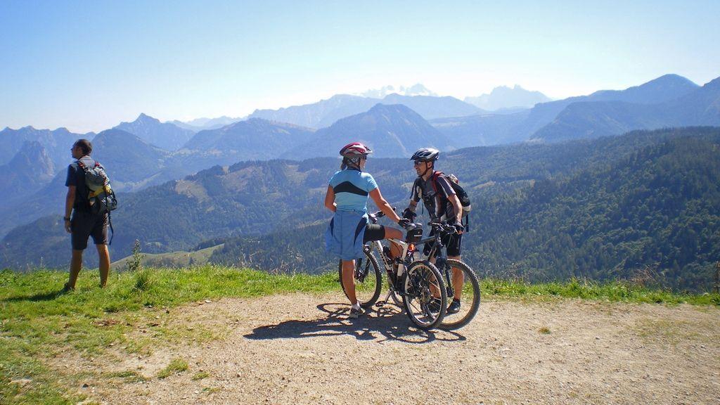Mountainbiken rund um Strobl - © WTG