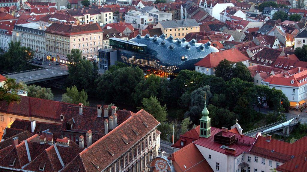 Kunsthaus © Graz Tourismus - Harry Schiffer