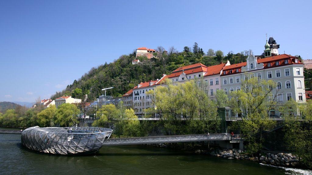 Murinsel © Graz Tourismus - Harry Schiffer