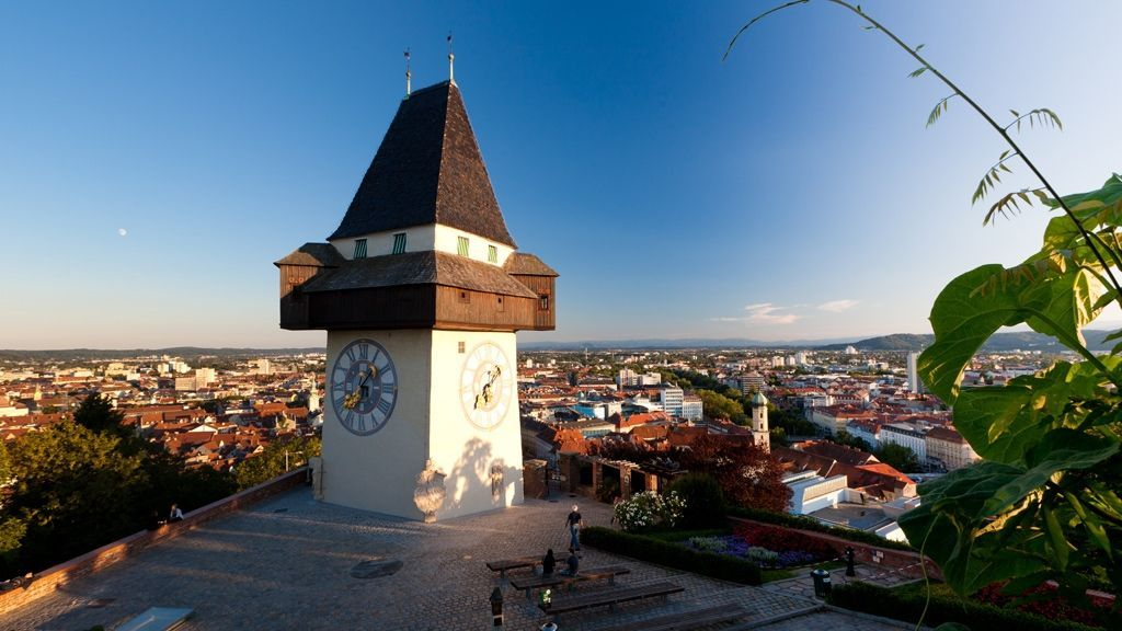 Uhrturm © Graz Tourismus - Harry Schiffer