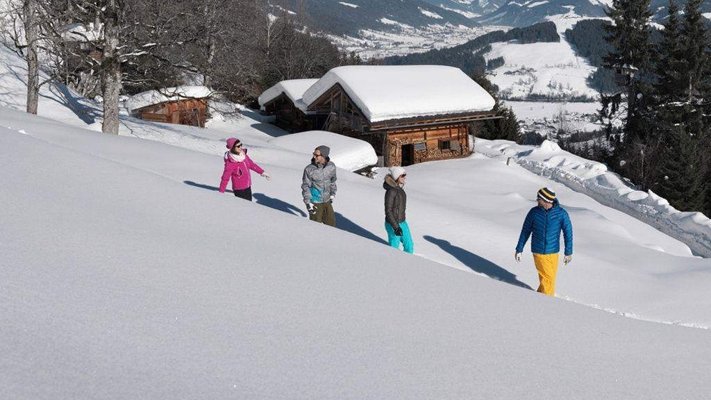 Winterwandern in der Salzburger Sportwelt © Österreich Werbung / Burgstaller