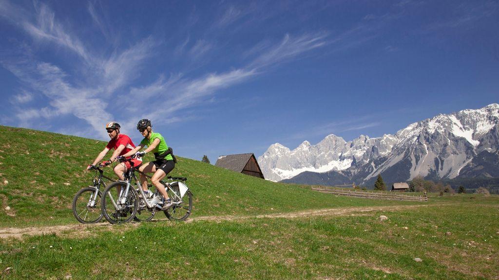 E-Biken in Schladming - Copyright: Schladming Dachstein/Harald Steiner