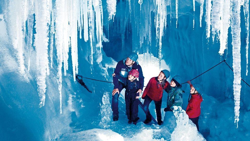 Eispalast - Foto: Archiv Tourismusverband Tux-Finkenberg