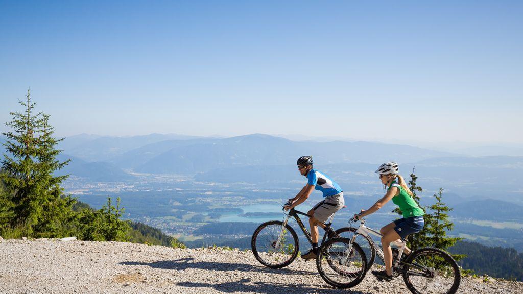 Österreich Kärnten Radfahren Region Villach - Region Villach - Faaker See - Ossiacher See Kaernten