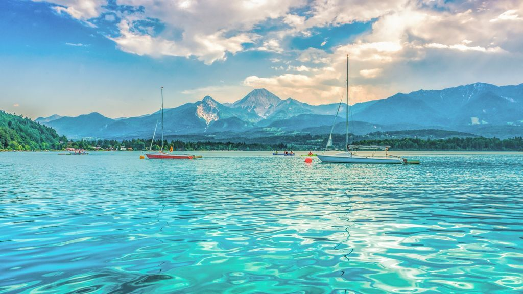 Österreich Kärnten Region Villach Faaker See Segelboote_LIK Fotoakademie_Thomas Salamonski