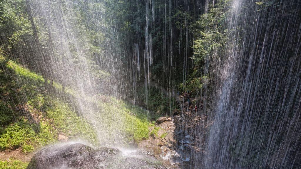 Österreich Kärnten Region Villach Ossiacher See Schleierfall Finsterbachwasserfälle_LIK Fotoakademie_Robert Bruenner