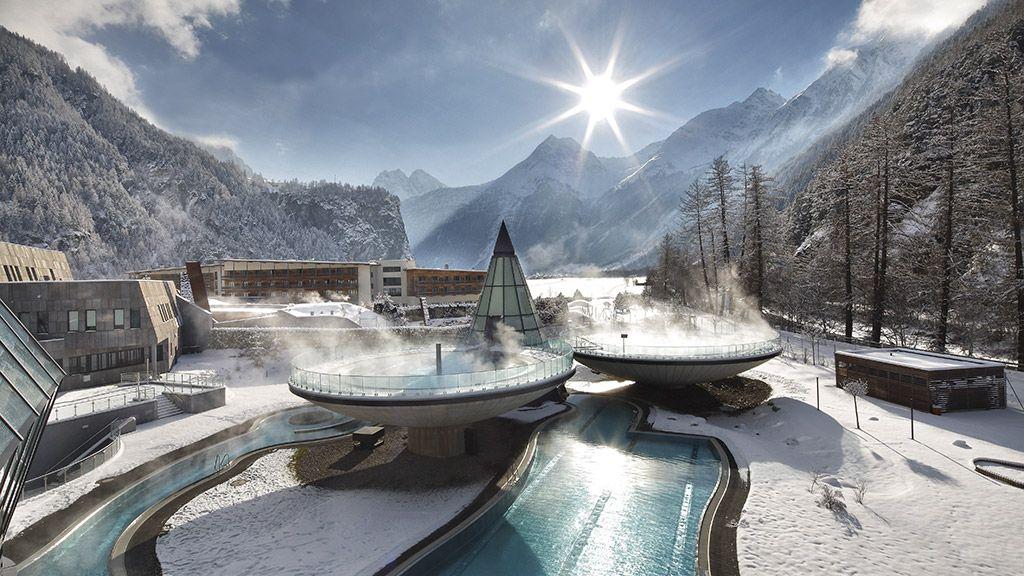 Aqua Dome, Tirol Therme Längenfeld - © Aqua Dome - OEtztal Tirol