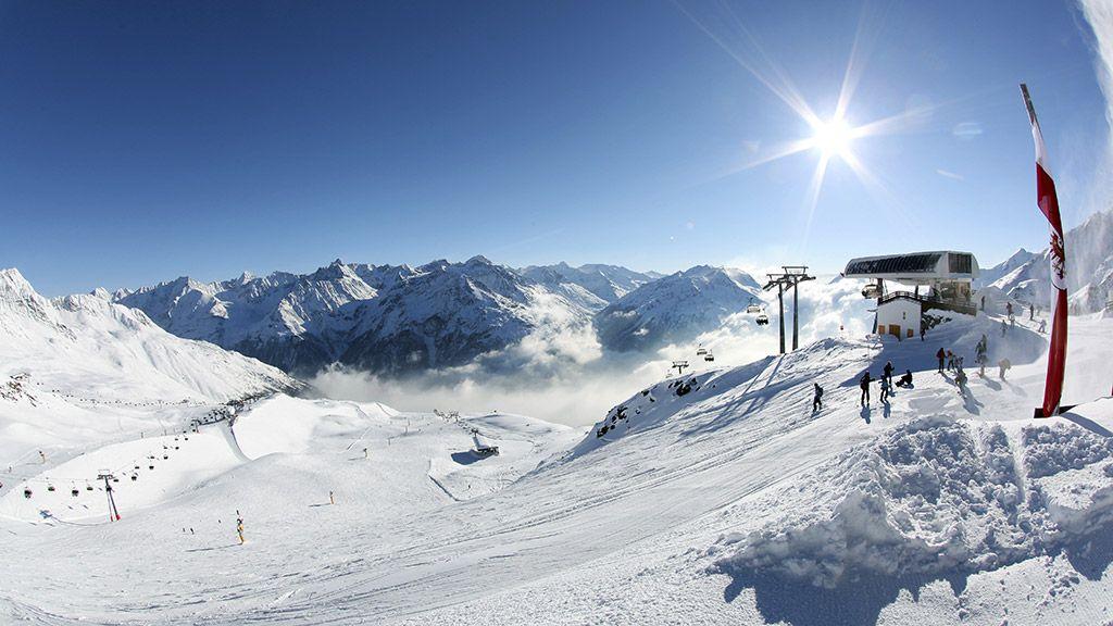 Skigebiet am Giggijoch - © Ötztal Tourismus/Isidor Nösig - OEtztal Tirol