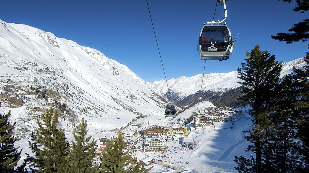 Die Hohe Mut Bahn in Obergurgl - © Alexander Lohmann/Ötztal Tourismus - OEtztal Tirol