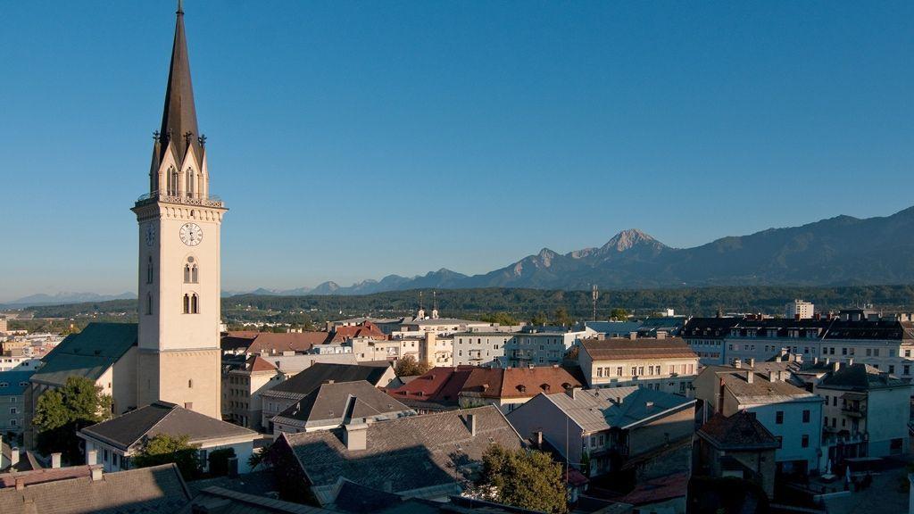 über den Dächern von Villach © Region Villach Tourismus GmbH