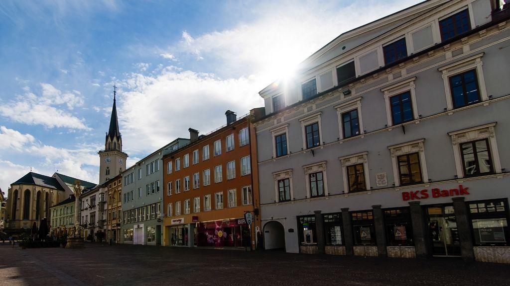 die Innenstadt von Villach © Region Villach Tourismus GmbH