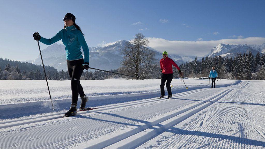 244 km Langlaufloipen gibt es im Kaiserwinkl - © TVB Kaiserwinkl/Tirol - Kaiserwinkl Tirol