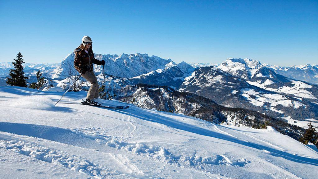Skifahren im Kaiserwinkl - © TVB Kaiserwinkl/Tirol - Kaiserwinkl Tirol