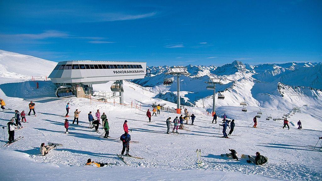 Skigebiet Diedamskopf - Foto: Dietmar Walser / Vorarlberg Tourismus