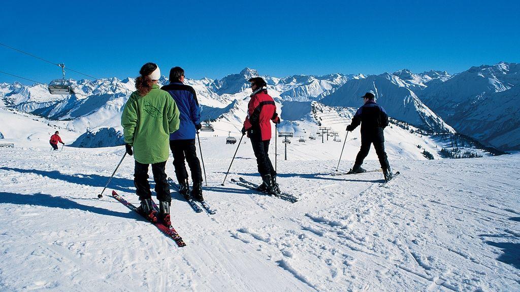 Skigebiet Diedamskopf - Foto: Franz Oberhauser / Archiv Vorarlberg Tourismus