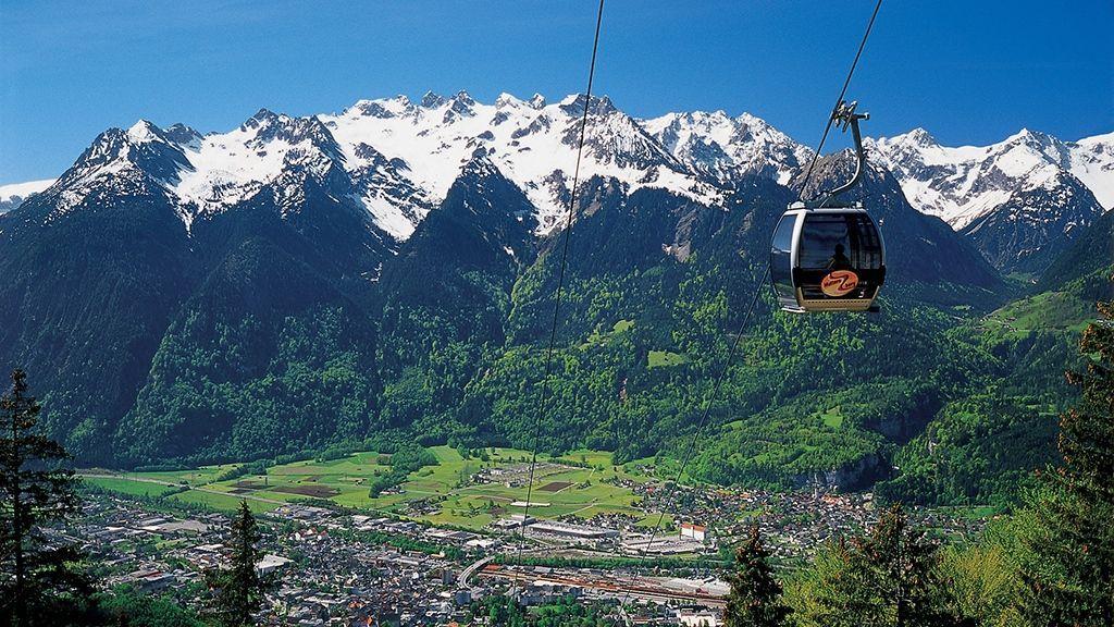 Bludenz Muttersbergbahn - Foto: Kevin Artho / Archiv Vorarlberg Tourismus
