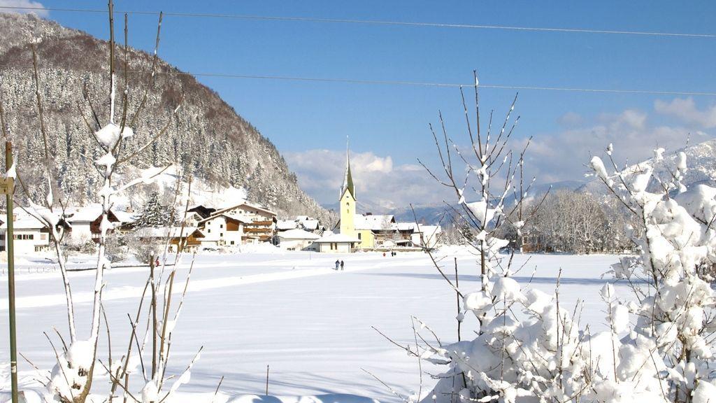 Winterurlaub im Dorf Walchsee in der Ferienregion Kaiserwinkl