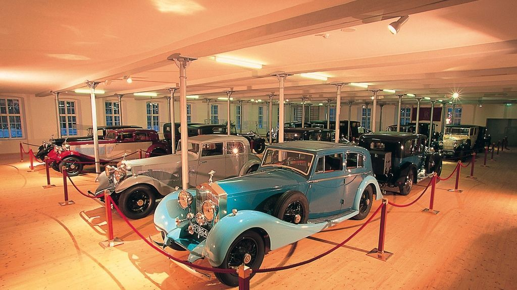 Rolls Royce Museum Hall of Fame - Foto: Dornbirn Tourismus
